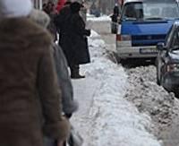 Uzsākta sniega izvešana