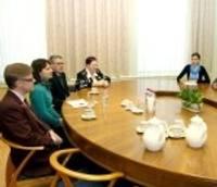 Domē viesojas Rotari kluba augstākā vadība