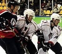 """""""Metalurga"""" hokejisti pēcspēles metienos uzvar """"Ņeman"""""""