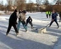 Amatieri sarīko dīķa hokeja turnīru