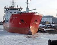 Ledus nespēj aizkavēt Karostas stividoru darbu
