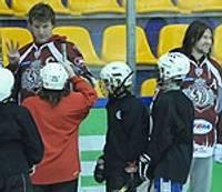 Dinamieši Liepājā krāšņo jauniešu treniņu