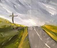 Otrdienu svētība Gata Mārtiņa Bezdelīgas gleznās