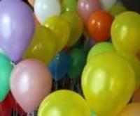 Balonu prieks Bērnu namā