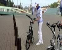 Liepājā atklāj elektrisko velosipēdu nomas punktu
