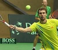 Gulbis un Bubka dosies laukumā pirmajā spēlē Latvijas un Ukrainas tenisistu mačā