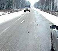 Brīdina par slideniem ceļiem visā valstī
