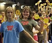 Olimpiskā diena pulcē 700 skolu audzēkņus