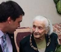 100 gadu jubilejā sumina liepājnieci Bertu Blauzdi