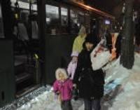 Sabiedriskā transporta kustība svētku brīvdienās