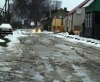 Sniega segas biezums Kurzemes dienvidrietumos jau sarucis uz pusi