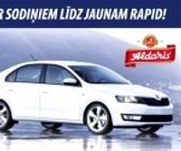 Arī Liepājā varēs cīnīties par Škoda Rapid