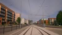 Pieņem ekspluatācijā jauno tramvaja līniju
