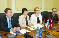 Somijas delegācija interesējas par Liepājas biznesa vidi