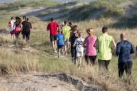 Ar spēka treniņu kāpās turpinās gatavošanos Liepājas Pusmaratonam