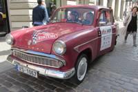 """Papildināts – Vēsturisko automašīnu regularitātes rallijā startēs """"Volga"""", """"žiguļi"""" un """"vabole"""""""