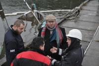 """Stīns Lorencs: Kuģa """"Spurn"""" tehniskais stāvoklis pēdējā laikā būtiski uzlabots"""