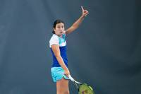 Sevastova WTA rangā pakāpjas uz 274. vietu
