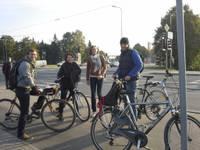Stundas laikā fiksē 502 velosipēdistus