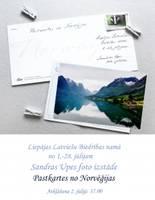 """Biedrības namā būs skatāma fotoizstāde """"Pastkartes no Norvēģijas"""""""