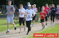 Ar tempa skrējieniem Raiņa parkā turpinās gatavoties Liepājas pusmaratonam