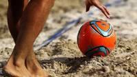 Divi turnīri Liepājas smiltīs