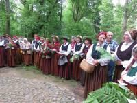 """Kazdangā ieskandina festivālu """"Baltica 2015"""""""