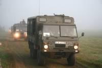 No Ādažiem uz Liepāju dosies sabiedroto militārās tehnikas kolonnas