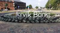 Ar Norvik Bankas atbalstu izveidots vides objekts Liepājā