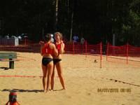 Liepājas un Aizputes pludmales volejbolisti Latvijas jaunatnes olimpiādē