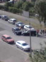 Izraisa negadījumu Siļķu ielā