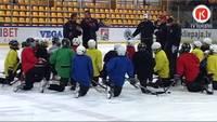 Liepājā notiek starptautisks amatieru hokeja turnīrs AMBER PUCK