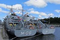 """""""Tālivaldis"""" sāk dežūru NATO 1.pastāvīgajā jūras pretmīnu grupā"""