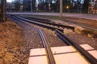 Tramvaju sliežu izbūve Brīvības ielā līdz Dzelzceļnieku ielai  pabeigta