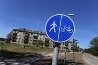 Turaidas ielā izbūvēta jauna ietve un veloceliņš