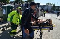 """Papildināts – Rallijā """"Kurzeme"""" vakar nopietnas traumas guvuši četri cilvēki"""
