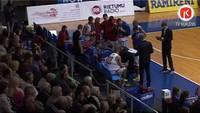 """Kurzemes derbijā """"Liepāja""""/""""Triobet"""" basketbolisti pārspēj """"Ventspili"""""""