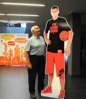 Spilgts pieteikums basketbola Mekā