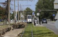 Tramvaja sliežu renovācijas laikā tiks slēgta satiksme Klaipēdas ielas posmā