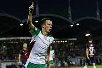 Dāvis Ikaunieks – Latvijas futbola virslīgas septembra labākais spēlētājs
