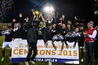 """Papildināts (foto) – FK """"Liepāja"""" kļūst par 2015. gada Latvijas čempioniem futbolā"""