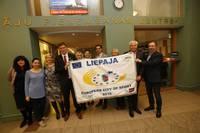 Liepāja saņem Eiropas Sporta pilsētas titulu