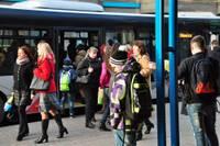 Svētkos sabiedriskais transports būs bez maksas