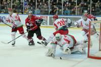 Latvijas hokejistispraigā mačā zaudē Baltkrievijai