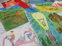 """Noskaidroti oriģinālākie skolēnu zīmējumi konkursā """"Noķer enerģiju!"""""""