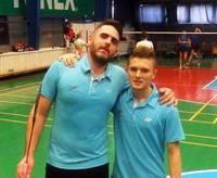 Zelts un sudrabs liepājas badmintonistiem Klaipēdā
