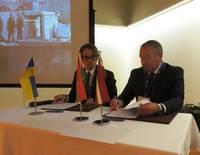 Paraksta sadarbības memorandu ar Ukrainas ostu pārvaldi