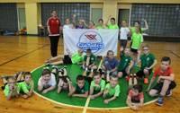 """Grobiņas skolēni iesaistās projektā """"Sporto visa klase"""""""