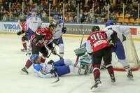Latvijas hokeja izlase pārbaudes turnīrunoslēdz ar grūtu uzvaru pār Itāliju