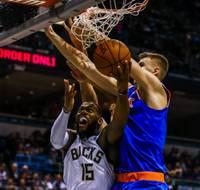 """Porziņģim iespaidīgs """"double-double""""; pārtrūkst """"Knicks"""" četru uzvaru sērija"""